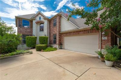 Austin Single Family Home Pending - Taking Backups: 13017 Appaloosa Chase Dr
