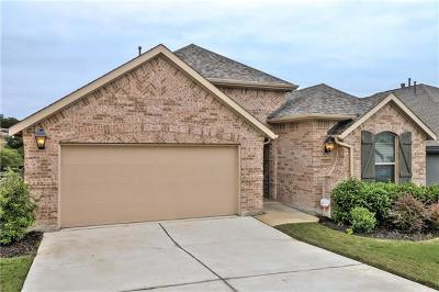 Leander Single Family Home For Sale: 3416 Venezia Vw
