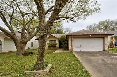 Travis County Single Family Home Pending - Taking Backups: 9110 Curlew Dr