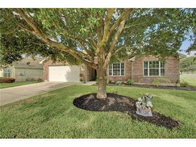 Pflugerville Single Family Home Pending - Taking Backups: 18728 Alnwick Castle Dr.