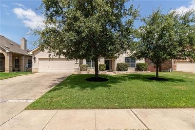 Round Rock Single Family Home Active Contingent: 3008 Edgecreek Pl