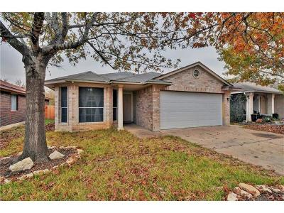 Leander Single Family Home For Sale: 2606 Hutton Ln