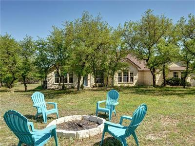 Spicewood Single Family Home For Sale: 20208 Auger Cv