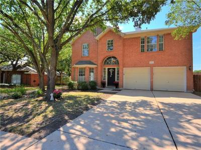 Round Rock Single Family Home Pending - Taking Backups: 16713 Sabertooth Dr