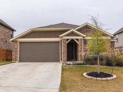 Round Rock Single Family Home For Sale: 5683 Corsica Loop