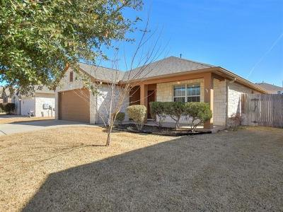 Round Rock Single Family Home Pending - Taking Backups: 1009 Hyde Park Dr