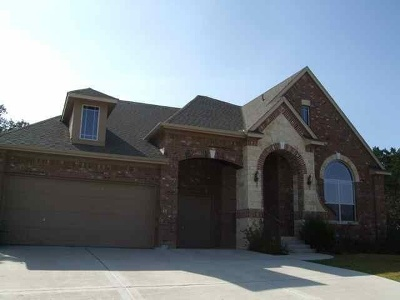 Cedar Park Single Family Home For Sale: 1309 Quiet Creek Dr