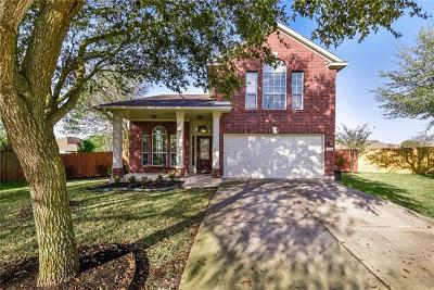 Round Rock Single Family Home For Sale: 1401 Jackie Robinson Pl