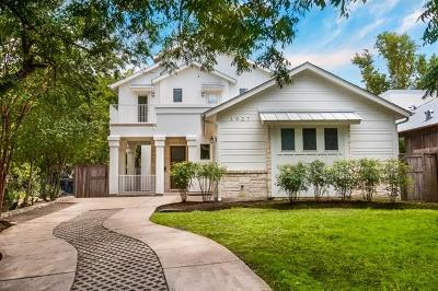 Single Family Home For Sale: 1907 Travis Heights Blvd
