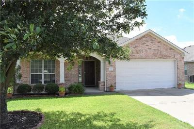 Hutto Single Family Home For Sale: 118 Campos Dr