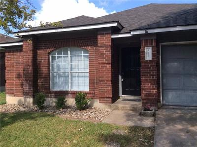 Pflugerville Single Family Home Pending - Taking Backups: 20816 Pacers Gait Ln