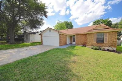 Round Rock Single Family Home Pending - Taking Backups: 602 Dover Ln