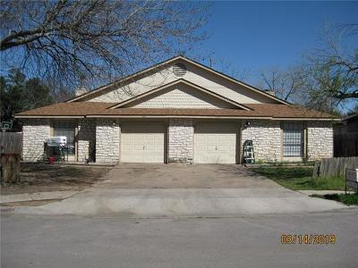 Round Rock Multi Family Home For Sale: 913 & 915 Ridgemont St