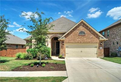 Round Rock Single Family Home For Sale: 4809 Terraza Trl