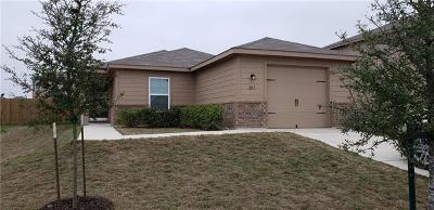Jarrell Single Family Home For Sale: 205 Millers Loop