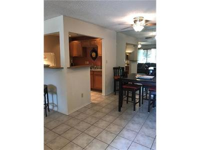 Travis County Condo/Townhouse Pending - Taking Backups: 8210 Bent Tree Rd #119