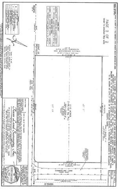 Hutto Residential Lots & Land For Sale: Evangeline Ln #Lot 27