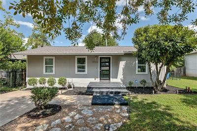 Austin Single Family Home For Sale: 5506 Samuel Huston Ave