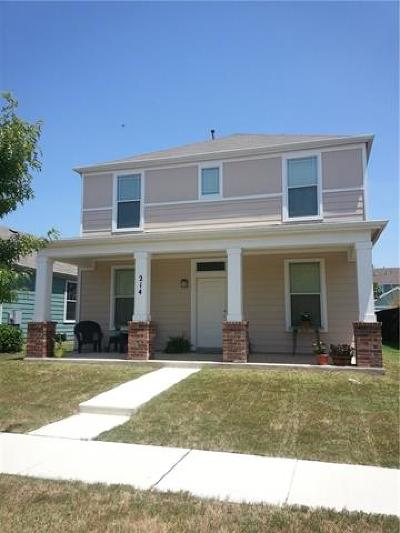 San Marcos Single Family Home For Sale: 214 Rush Hvn