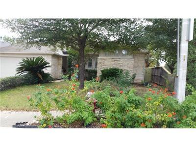 Cedar Park Single Family Home For Sale: 101 Cluck Creek Trl