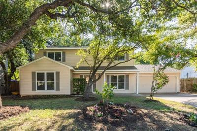 Round Rock Single Family Home For Sale: 1701 Oakridge Dr