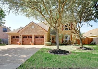 Round Rock Single Family Home For Sale: 2803 Chatelle Dr