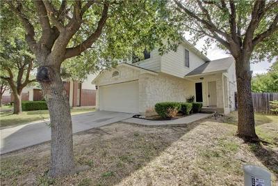 Pflugerville Single Family Home For Sale: 15009 Drusillas Dr