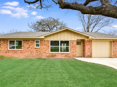 Marble Falls Single Family Home For Sale: 1611 Northwood Dr