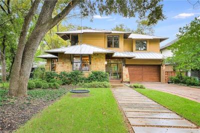 Austin Single Family Home For Sale: 1413 Ethridge Ave