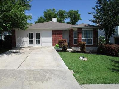 San Marcos Single Family Home Pending - Taking Backups: 1108 Hilltop Dr
