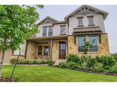 Leander Single Family Home Pending - Taking Backups: 3413 Flat Iron Ct