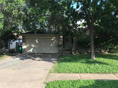 Pflugerville Single Family Home For Sale: 522 Broken Feather Trl