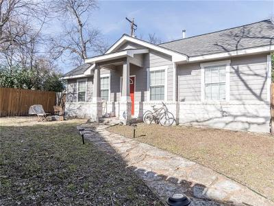 Travis County Single Family Home For Sale: 500 W North Loop Blvd #B