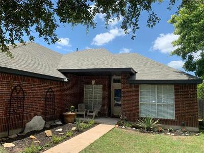 Leander Single Family Home For Sale: 1713 Greening Way