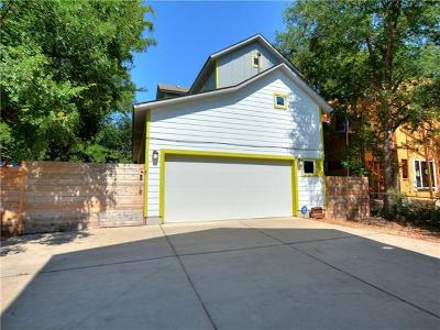 Travis County Single Family Home Pending - Taking Backups: 1207 Cometa St #B