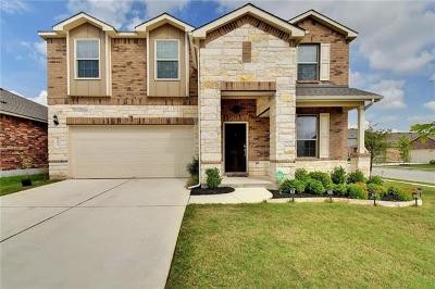 Pflugerville Single Family Home For Sale: 19832 Cherubini Trl