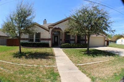 Cedar Park Single Family Home For Sale: 2603 Bois D Arc Ln