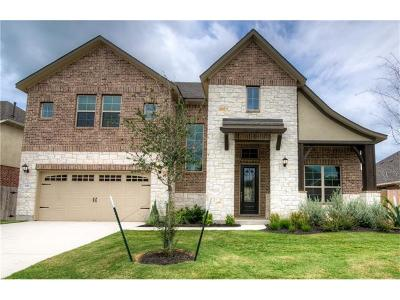 Round Rock Single Family Home For Sale: 841 Expedition Way