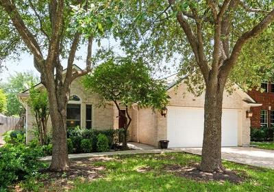 Round Rock Single Family Home For Sale: 8612 Priest River Dr