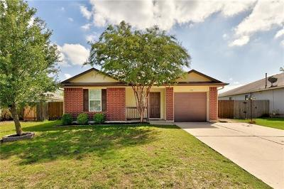 Hutto Single Family Home Pending - Taking Backups: 606 Losoya Ct