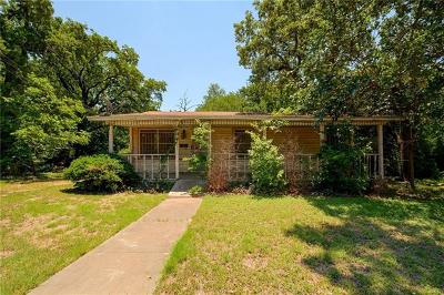 Travis County Single Family Home Pending - Taking Backups: 1703 Hillcrest Ln