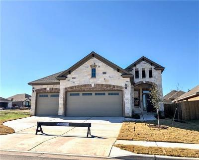 Round Rock Single Family Home For Sale: 1204 Matt Ln
