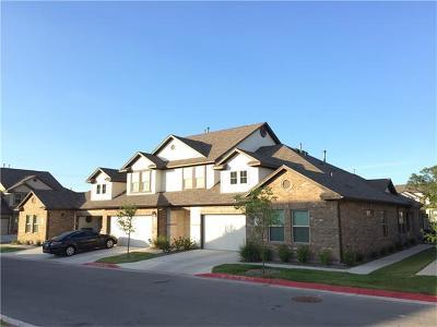 Cedar Park Condo/Townhouse For Sale: 2214 S Lakeline Blvd #116