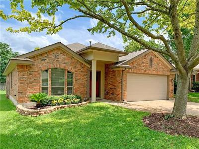 Travis County, Williamson County Single Family Home For Sale: 8015 Cahill Dr