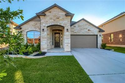 Leander Single Family Home For Sale: 2413 Republic Trails Blvd