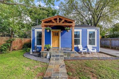 Travis County Single Family Home For Sale: 1137 Nickols Ave