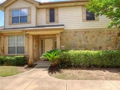 Round Rock Condo/Townhouse For Sale: 16100 S Great Oaks Dr #2001