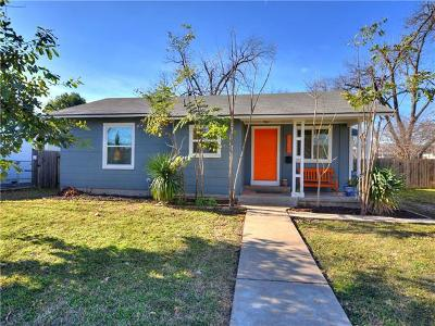 Travis County Single Family Home Pending - Taking Backups: 5802 Chesterfield Ave