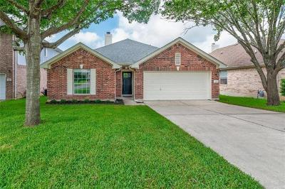 Round Rock Single Family Home Pending - Taking Backups: 913 Wilderness Path