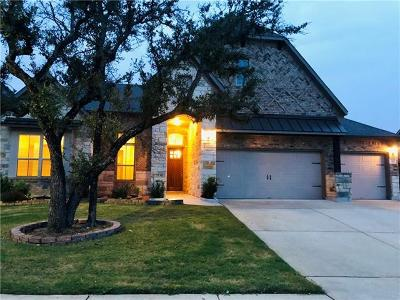 Leander Single Family Home For Sale: 2325 Blended Tree Ranch Dr